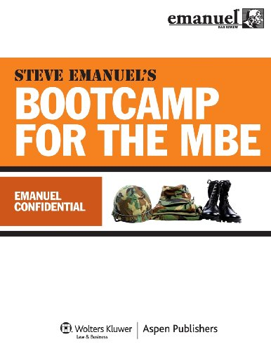 Steve Emanuels Bootcamp for the MBE (Emanuel Bar (Mbe Boot)