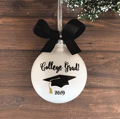 College Graduation Ornament 2019, College Graduation Gifts For Her, College Grad Gifts For Him