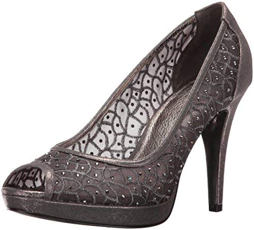 Adrianna Papell Women's Foxy Dress Pump, Gunmetal, 8 UK/8 M US