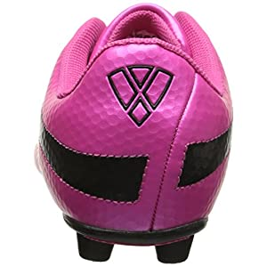 Vizari Infinity FG 93344-9 Soccer Cleat Pink/Black, 9 M US Toddler