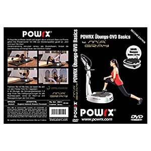 "POWRX vibrationstrainings Übung-DVD ""Basics"" - DVD de Ejercicios en plataforma vibratoria con Playmate Mia Gray (Ejercicios Basicos)"