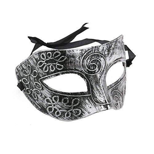 Superw Antique Masquerade Masks Face Mask Venetian Masks for Fancy Dress Ball/Masked Ball/Halloween (Color : -