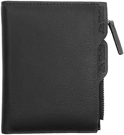 Mr.Wallet Mens RFID Blocking Wallet Bifold Genuine Top Grain Leather