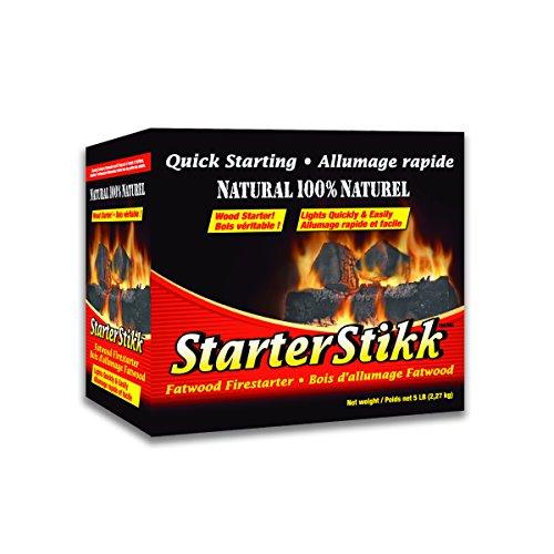 Pine Mountain Firestarters StarterStikk Fatwood Firestarting Sticks, 5 lb (Quick Start Fire Starter compare prices)