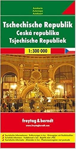 Kirjat pdf-tiedostoina Czech Republic (English, French, Italian and German Edition) CHM