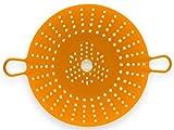 Chef'n Sleekstor VeggiSteam 8-1/2-Inch Silicone Steamer, Apricot