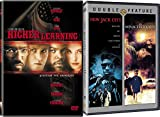 90's Urban Coming of Age 3 Movie Bundle: NEW JACK CITY & MENACE 2 SOCIETY & HIGHER LEARNING Triple Feature