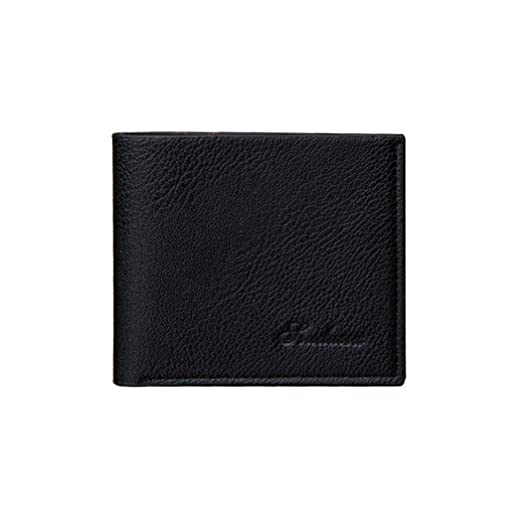4b11649a892bb Dalina Men Short Wallet Casual Fashion Soft Synthetic Leather Two ...