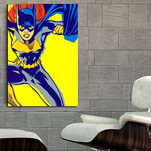 Poster mural dc comic batgirl pop art 40x58 in 100x145 cm for Poster mural 4 murs