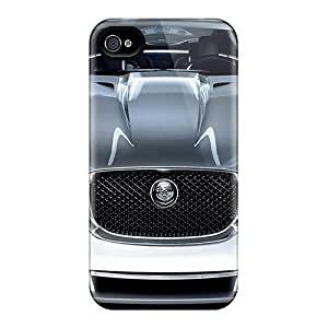 Durable Defender Case For Iphone 4/4s Tpu Cover(awesome Car)