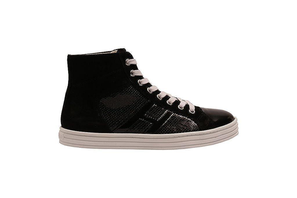 Hogan Rebel  schwarz Damen Gymnastikschuhe schwarz  schwarz 30 8d01c5