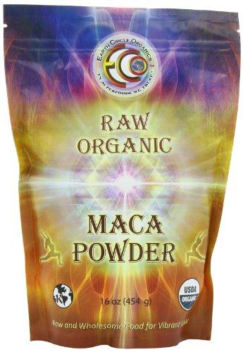 Earth Circle Organics Raw Organic Maca Powder, 1 Pound