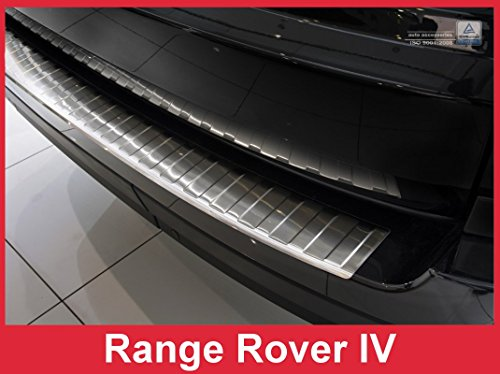 ZIC Motorsports 2013-2016 Land Rover Range Rover IV – Stainless Steel Rear Bumper Protector Guard