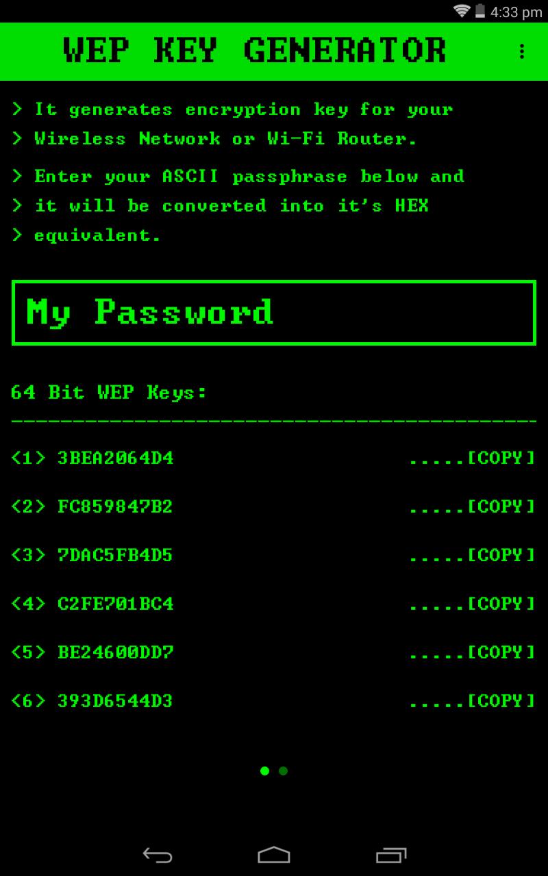 Wifi Password Generator Pro – Secure WEP Keys: Amazon.es