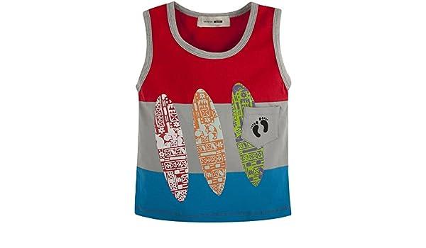 Toddler//Kid 11-12 Hang Ten Big Boys Kawabunga Surfboard Tank - Gray