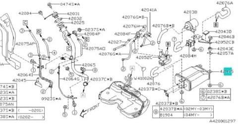 Amazon.com: Genuine Subaru Impreza Legacy Outback Forester ... on 2004 chrysler sebring wiring-diagram, 2004 jeep liberty wiring-diagram, 2004 gmc envoy wiring-diagram, 2004 audi a6 wiring-diagram, 2004 ford escape wiring-diagram,