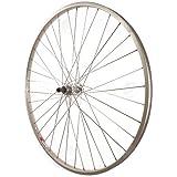Sta-Tru Silver Alloy Freewheel Hub Rear Wheel (27X1 1/4-Inch)