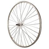 Sta-Tru Silver Alloy Freewheel Hub Rear Wheel (27X1 ¼-Inch)