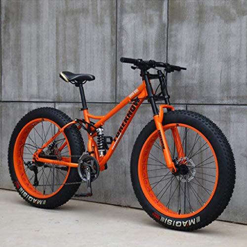 26 inch mountainbikes, MJH-01 volwassen vetband mountainbike,24 speed fiets, high-carbon stalen frame dubbele volledige…