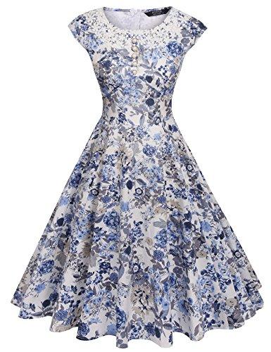 40s a line dress - 6