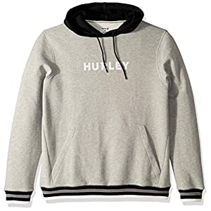 Hurley Men's Long Sleeve Fleece Pullover Hoodie