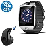 Captcha Bluetooth Smart Watch Phone With Camera & Sim Card Support