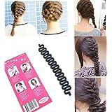 3PCS French hair braiding tool roller with hook Magic hair Twist Styling Bun maker New