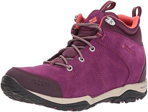 7ef1da9a105 Columbia Fire Venture Mid Waterproof Hiking Boot Dark Raspberry ...