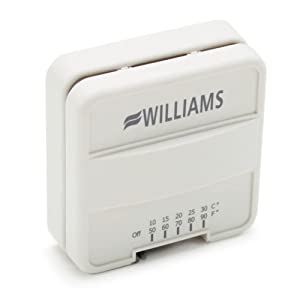 Williams P322016 Furnace Wall-Mounted Thermostat Genuine Original Equipment Manufacturer (OEM) part