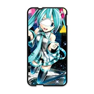 Hatsune Miku HTC One M7 Cell Phone Case Black VC99G80G