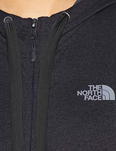 Con North A Fave Grey T93bsn Lunghezza White Heather Dark The Cerniera Face Felpa tnf Donna Tnf Tutta F4UqnxdIA