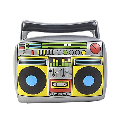 Macddy Inflatable Instruments Air Radio Toy Blow Up Part