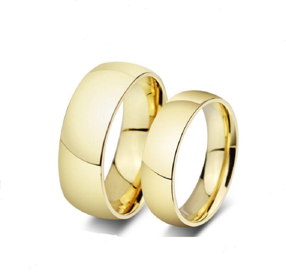 Amazon.com: Los Nuevos Anillos Amante Oro Titanio Anillos De Compromiso Anillos De Boda Al Por Mayor De R-012 (women, 5): Home & Kitchen