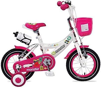 Byox Bicicleta niño 12 Pulgadas 1281 Rosa niña, Ruedas de Apoyo ...