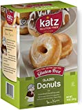 Katz, Gluten Free Vanilla Glazed donuts, 14 Ounce, (1 Pack)