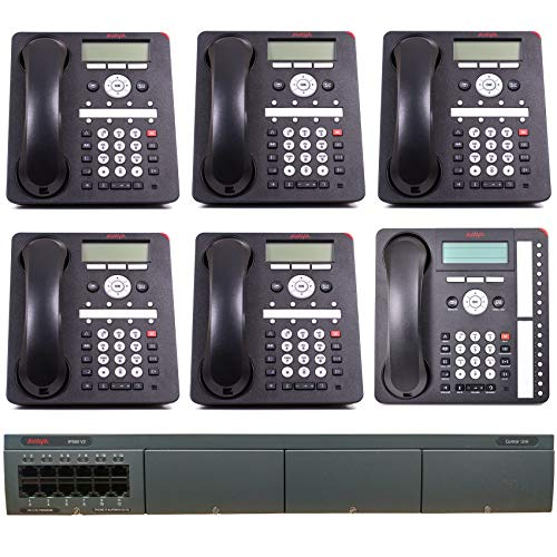 (Avaya IP Office Phone System: Basic Digital Edition - 1 Year of Dialtone (6 Phone Bundle))