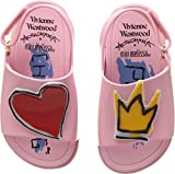 Vivienne Westwood Baby Girl's Mini Anglomania + Melissa Beach Slide Sandal (Toddler) Pink 7 M US Toddler