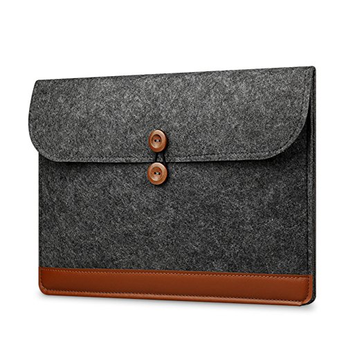 Felt Envelopes - Beyong Laptop Sleeve 13.3 Inch Felt Envelope Cover Ultrabook Carrying Case Table Bag for MacBook Chromebook iPad pro and more