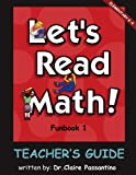 img - for Let's Read Math: Funbook 1 Teacher's Guide book / textbook / text book