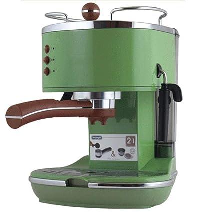 LJINM Máquina de café de presión de Bomba Capacidad del Tanque de Agua de 1.4 litros