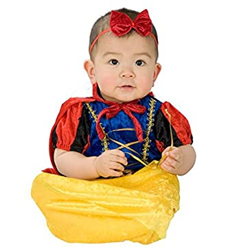 Baby Girls' Snow White Bunting Costume