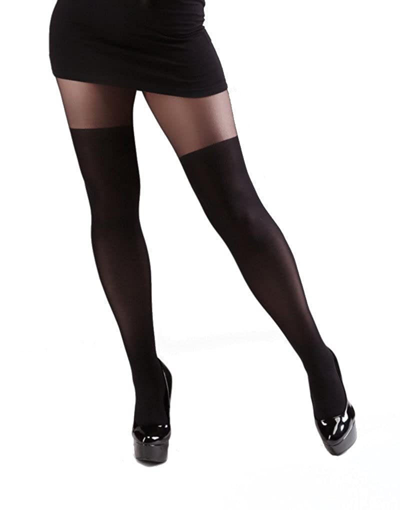 Miss Naughty Over The Knee Tights, in Plus Size too! - Hosiery Outlet MISS6