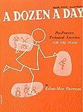 A Dozen a Day Volume 4 (Orange) - Piano