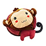USB Heated Mouse Pad Mouse Hand Warmer with Wristguard Warm Winter Cute Monkey