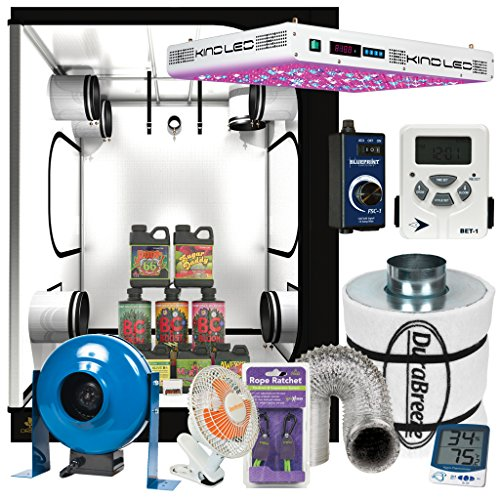 51ugAjYVxpL Complete 5 x 5 KIND LED XL1000 Grow Tent Package w/ Filter, Fan and more
