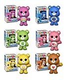 Funko Pop Care Bears Set - Good Luck Bear, Cheer Bear, Love-a-Lot Bear, Tenderheart Bear, Grumpy Bear, Funshine Bear - Bundle of 6 with PopShield Protector