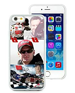 iPhone 6/6S TPU Case ,Newest And Beautiful Designed Case With Dale Earnhardt Jr White iPhone 6/6S Screen Case Good Quality Designed Phone Case