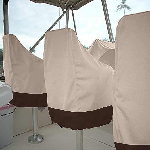 Funda para silla QEES, cubierta antipolvo para asiento de yate ...