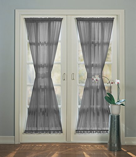 Top 10 recommendation french door curtains gray sheer 2020