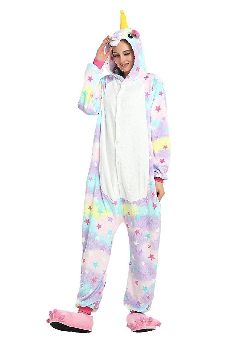 dcc16462d613f ... Minetom Adulte Unisexe Anime Animaux Cosplay Ensemble Combinaison  Onesie Pyjama À Capuche Halloween Costume Soirée De ...